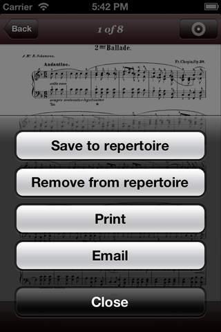 Chopin Nocturnes screenshot 3