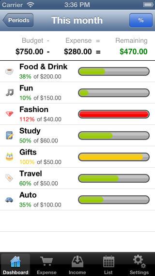 MoneyNote (KozNote) iPhone Screenshot 3