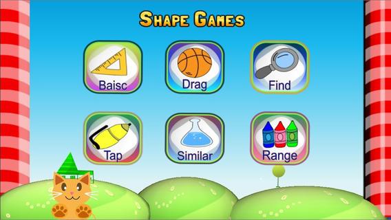 QCat - Toddler Shape Games