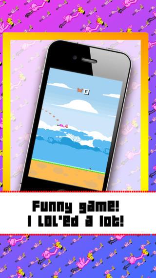 【免費遊戲App】Flappy Flamingo FREE by Happy Elephant-APP點子