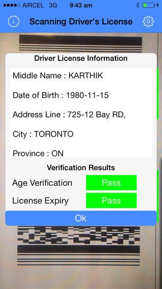 Driver's License Decoder