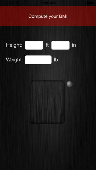 Uweight - body tracker