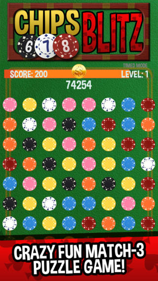 Chips Blitz - Match 3 Puzzle Game