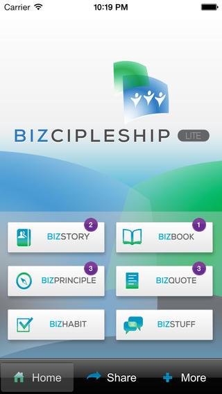 Screenshots for Bizcipleship LITE