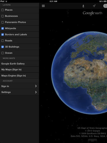 Google Earth On The App Store On Itunes
