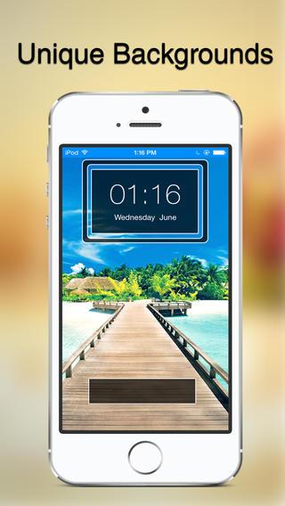 Lockz - Custom Lockscreen wallpaper for iOS7