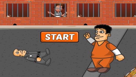 Prisoner Food Fight - Jail Hero Orange Defender