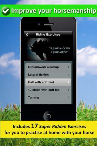 Riding Exercises iPhone Screenshot 2