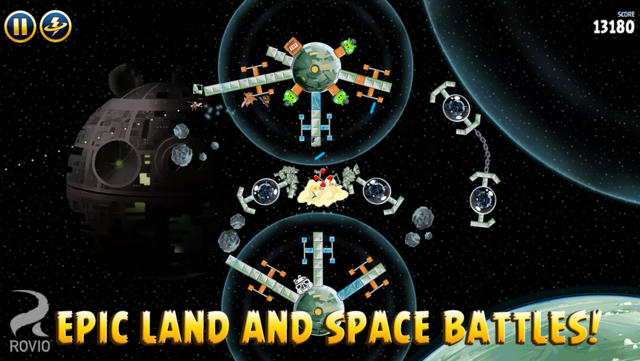 Angry Birds Star Wars - iPhone Mobile Analytics and App Store Data