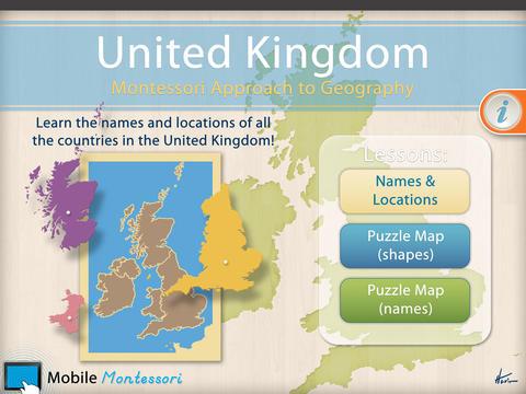 United Kingdom - A Montessori Approach To Geography