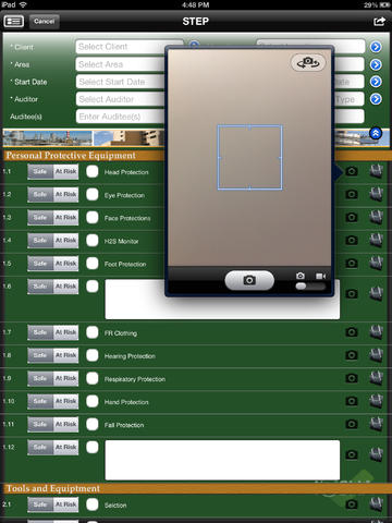 iOSHA Compliance Auditing & Risk Assessment for iPad