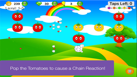 Tomato Pop The Chain Reaction Game