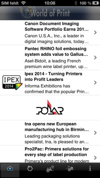 World of Print - daily