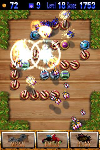 Worms Defense iPhone Screenshot 5