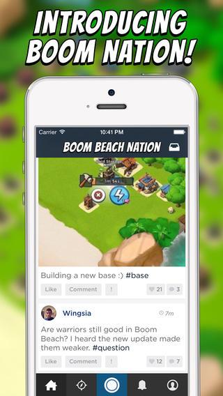 Boom Nation - Social Network for Boom Beach
