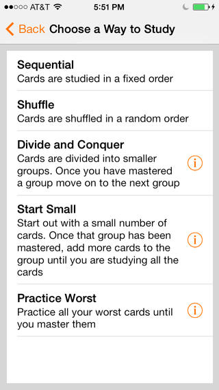 Notecards iPhone Screenshot 3