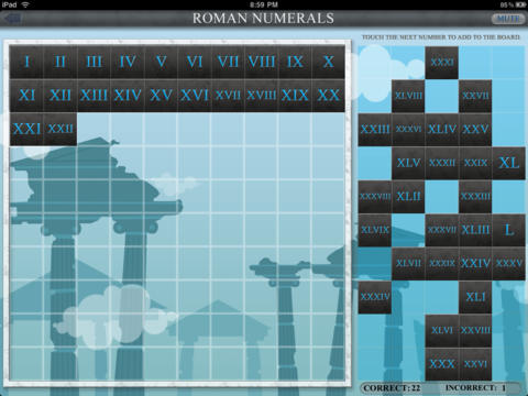 Roman Numerals! iPad Screenshot 2