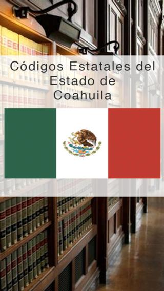 Codigos Estatales del Estado de Coahuila