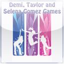 Demi, Taylor and Selena Gomez Games mobile app icon