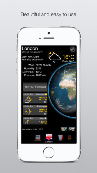 Real Weather News - Active Temperature Forecast and Current Updates