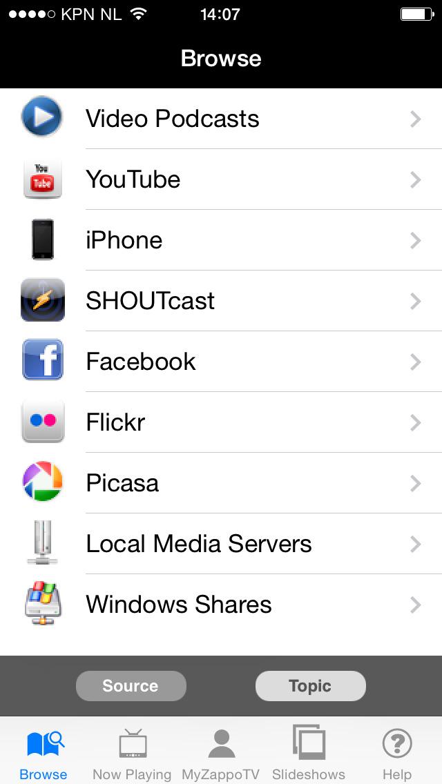 LG TV Media Player screenshot 3