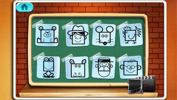 儿童绘画_动画_创意画板