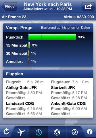FlightTrack Pro – Live Flight Status Tracker by Mobiata screenshot 3