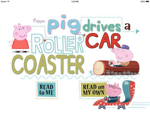 Peppa Pig - Rollercoaster car HD