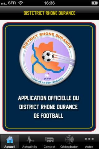 District Rhône Durance iPhone Screenshot 1