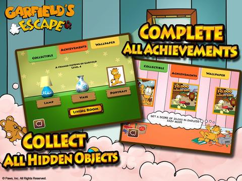 Garfield's Escape Screenshot