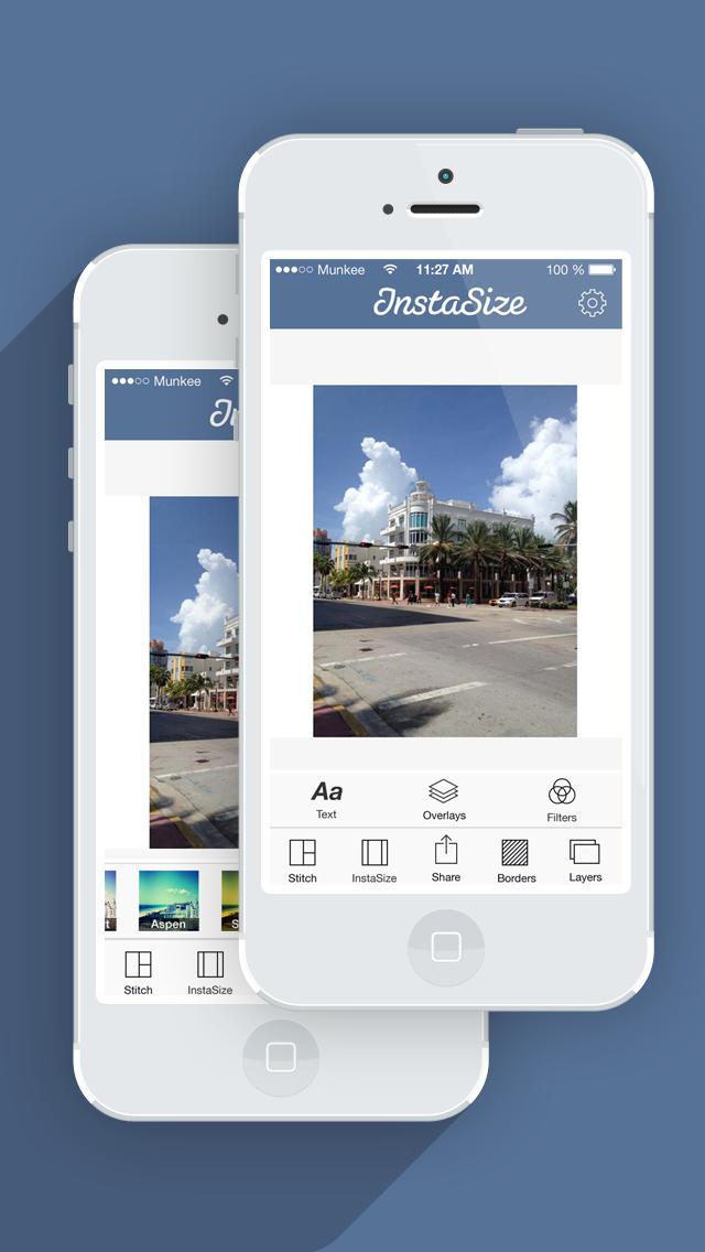 InstaSize - Публикуйте Целые Фотографии в Instagram Без Кадрирования