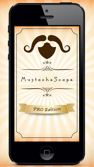 Mustache Scape PRO – The Funny Moustache Face Makeover App