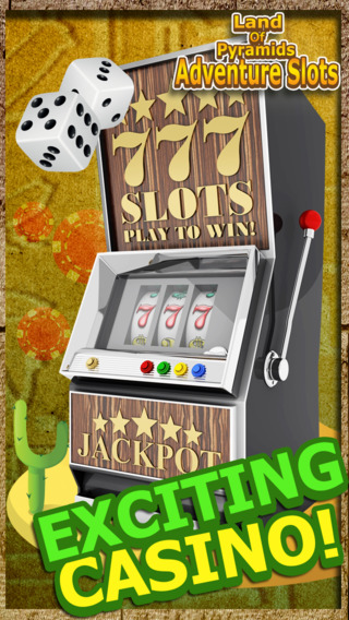 Ace King of The Pyramids Las Vegas 777 - Adventure Slots Spin to Win
