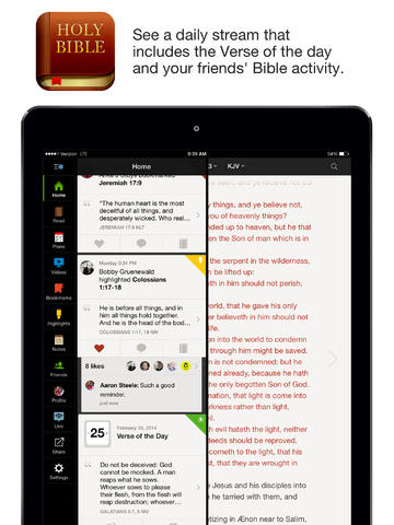 Image of Bible for iPad