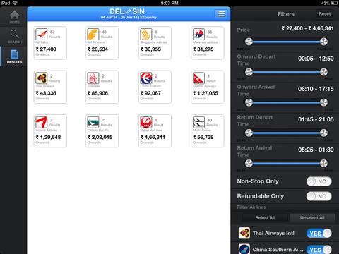 Yatra.com for iPad