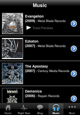 Behemoth iPhone Screenshot 2