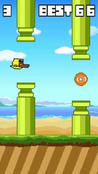 Flappy Duckling - The Adventure of a Duckling Flying Like a Bird