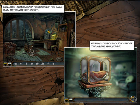 Nick Chase: A Detective Story HD iPad Screenshot 5