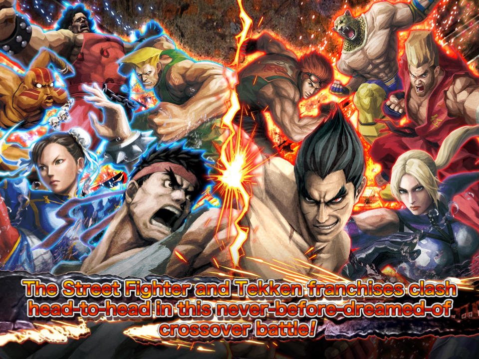 STREET FIGHTER X TEKKEN MOBILE  - iPhone Mobile Analytics and App Store Data