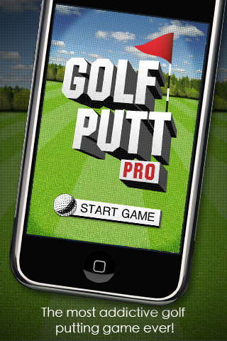 Golf Putt Pro iPhone Screenshot 2