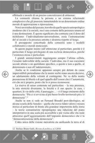 Comunità - Tra Post-democrazia e federalismo