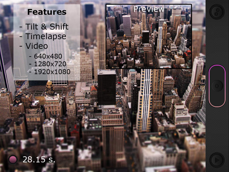 Miniatures Pro: Tilt-Shift Time-Lapse Videos - iPhone Mobile Analytics and App Store Data