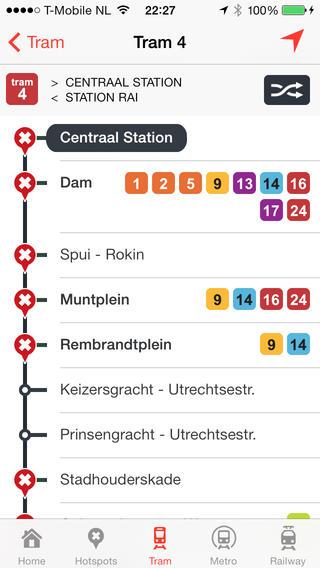 Infomaps Amsterdam iPhone Screenshot 3
