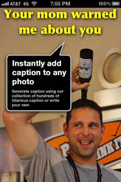 Cap ur Photo - Write funny captions or text on your pictures for facebook and instagram - iPhone Mobile Analytics and App Store Data