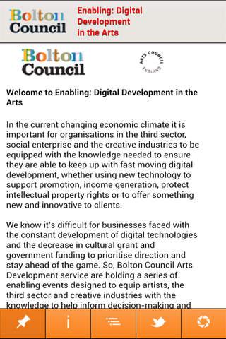 Arts: Digital Bolton