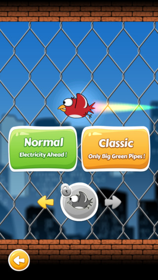 Flappy Back HD - High Voltage