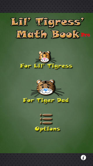 Lil' Tigress' Math Book Pro