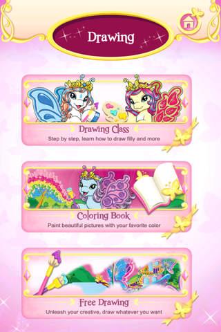 Filly® Star Stylist – Butterfly Drawing App screenshot 3