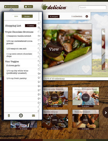 Gluten-Free Recipes by Delicion iPad
