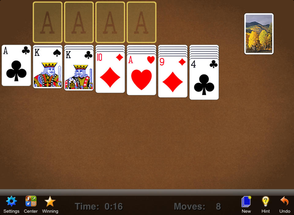 Solitaire - iPhone Mobile Analytics and App Store Data